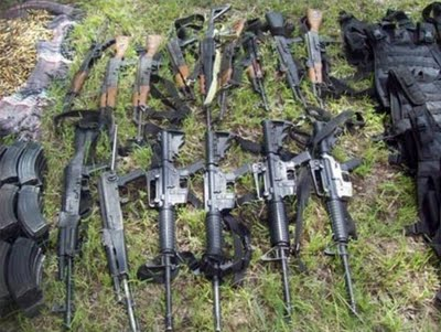Gulf Cartel arsenal seized in Zacatecas  | Mexican Drug